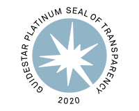 Guide star seal of transparency platinum